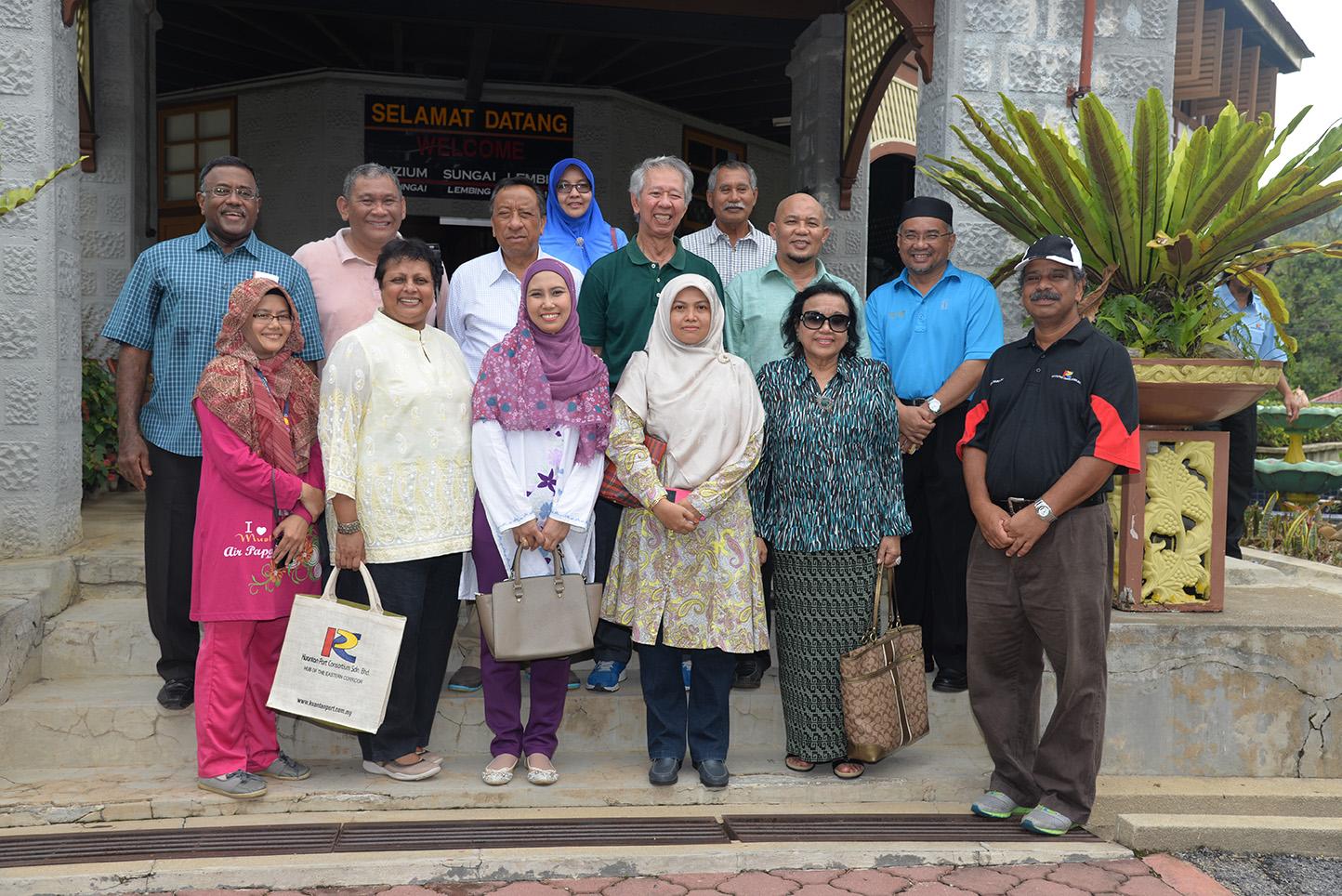 board members visit