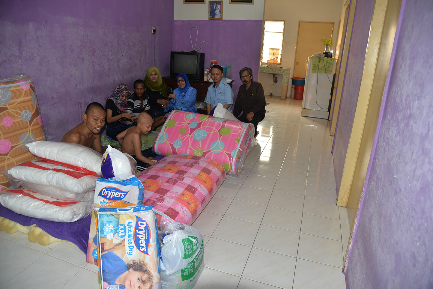AID TO RAHANA's FAMILY